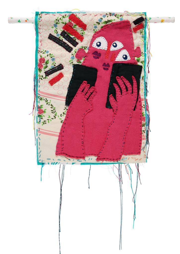 Bas Kosters, 'Communication tapestry 1', 2016, textiel, Foto Bas Kosters