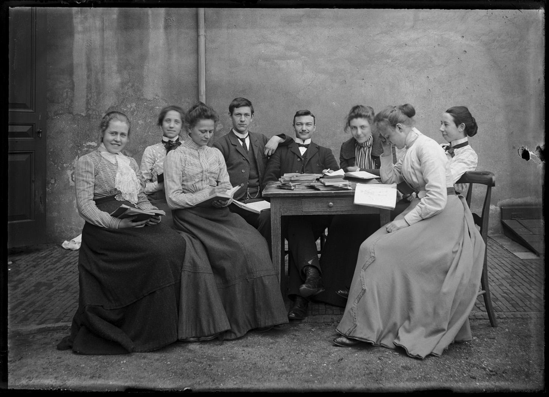 schrijvende mannen en vrouwen